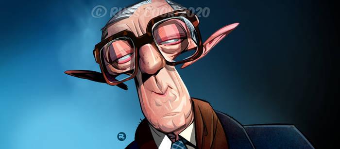 Alec Guinness Caricature
