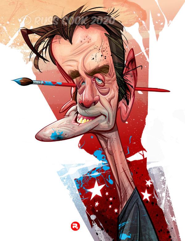 Bill Sienkiewicz caricature