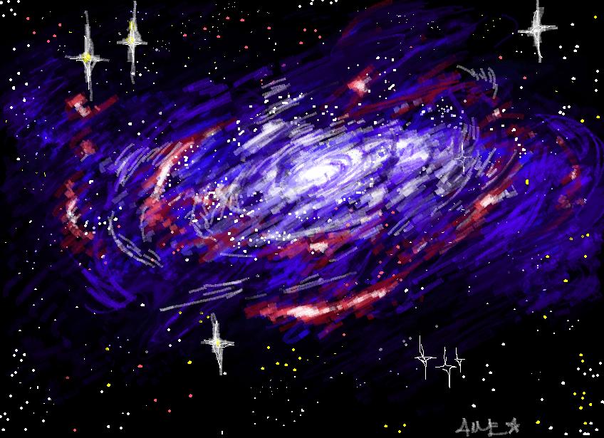 Galaxy Unknown by TomtomyxD on DeviantArt