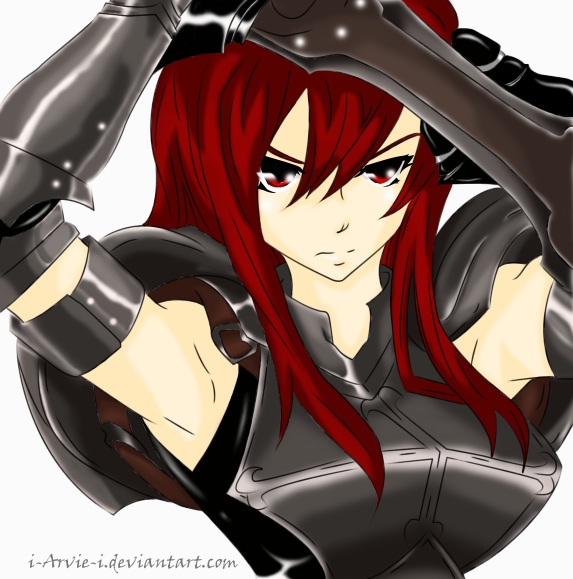 FT: Erza Scarlet by i-Arvie-i