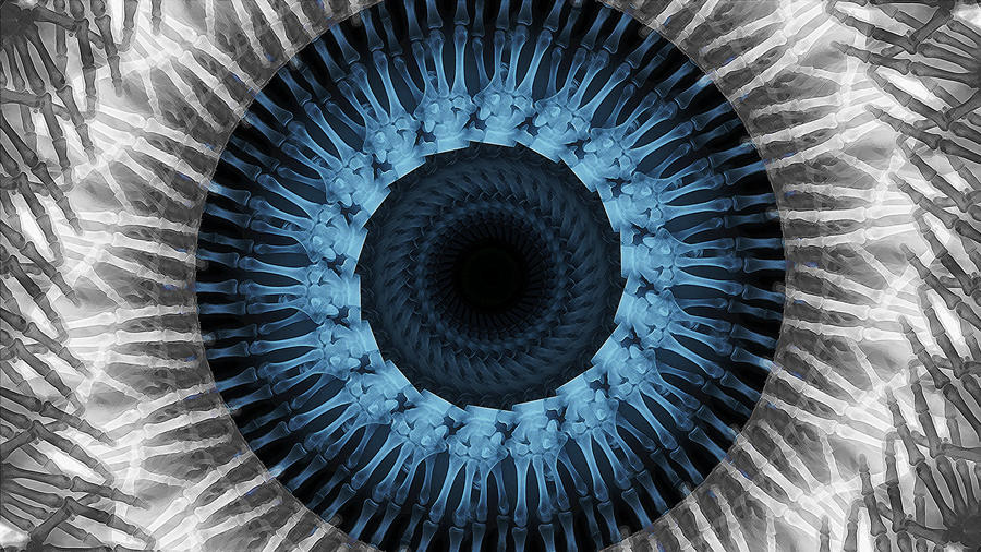 X-Rayed Eye by glue-poland