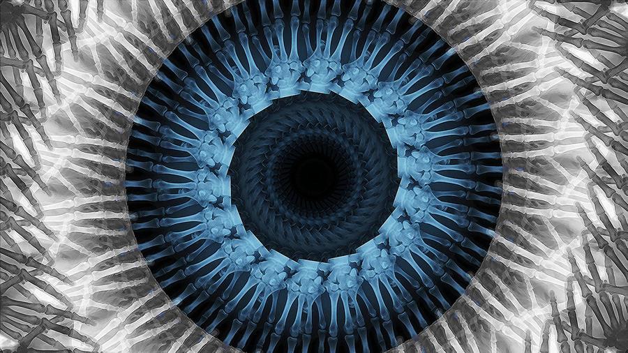 X-Rayed Eye by glue-poland
