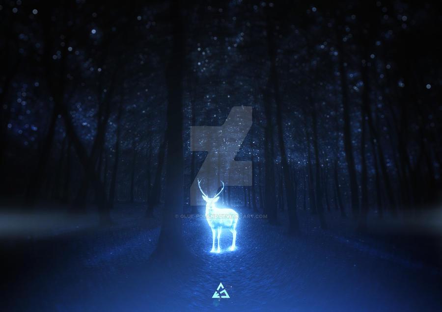 Deer by glue-poland
