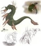Toxic creature by acidshadow