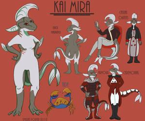 Kai Mira The Hylotl
