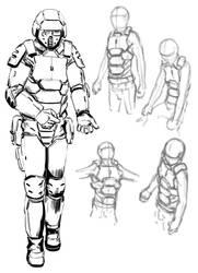 Sci Fi Armor Designs