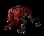Blood starved beast sprite-Bloodborne by Onepiecequeen101