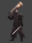 Fume knight - Dark souls 2 sprite by Onepiecequeen101