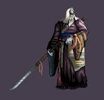 Corrupted monk sprite- Sekiro Shadows die twice by Onepiecequeen101