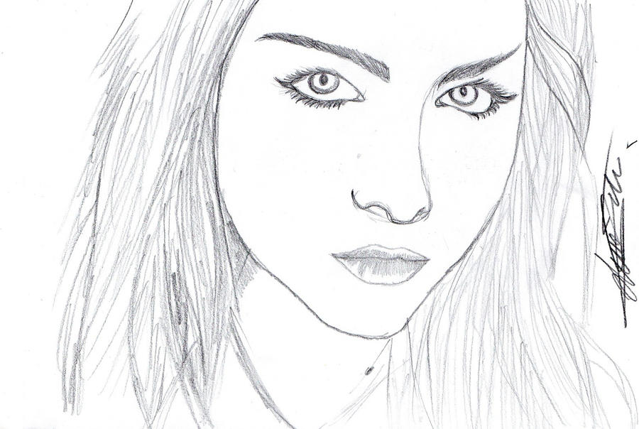 portrait amy lee by ShaneThread