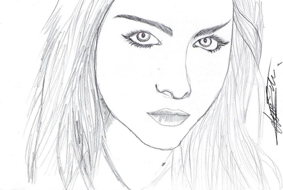 portrait amy lee by ShaneThread
