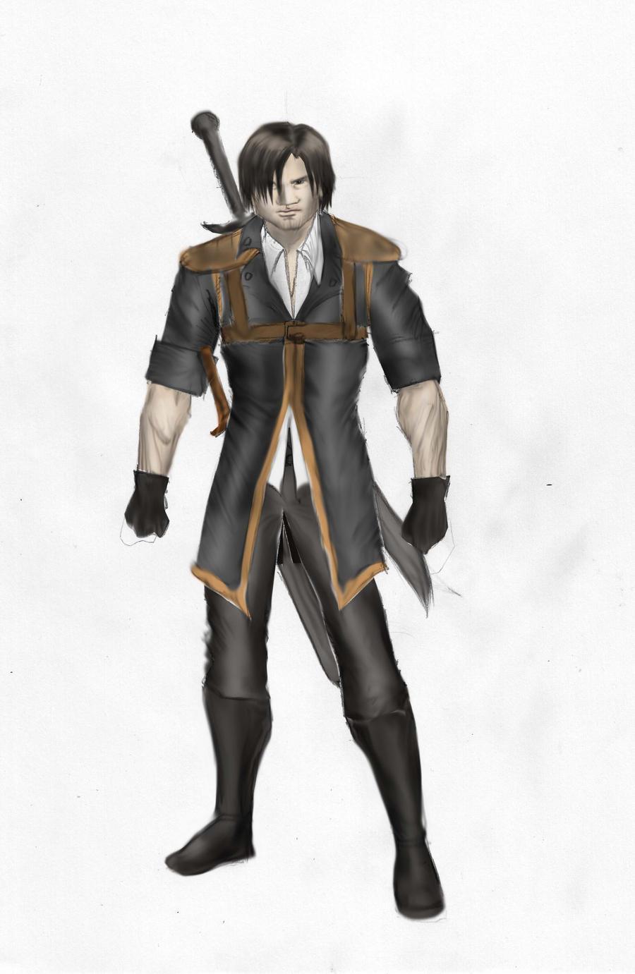 Main character 3rd version by gamerfan2000