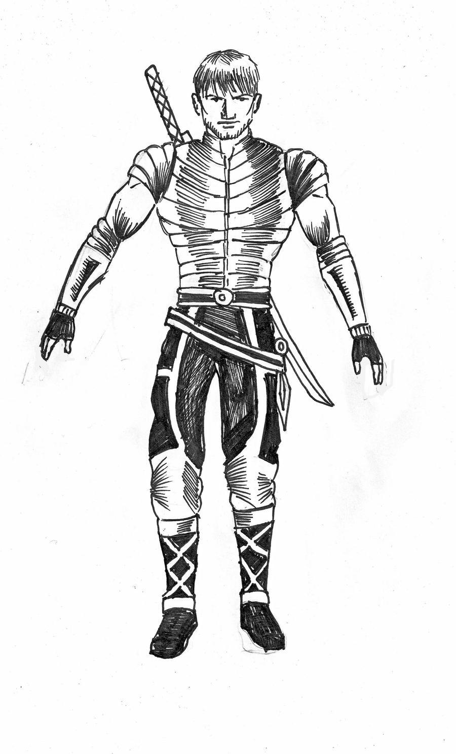 Hero prototype by gamerfan2000