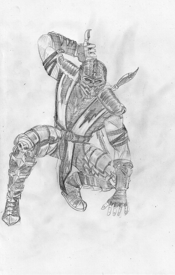 Mortal Kombat 2011 Scorpion by gamerfan2000