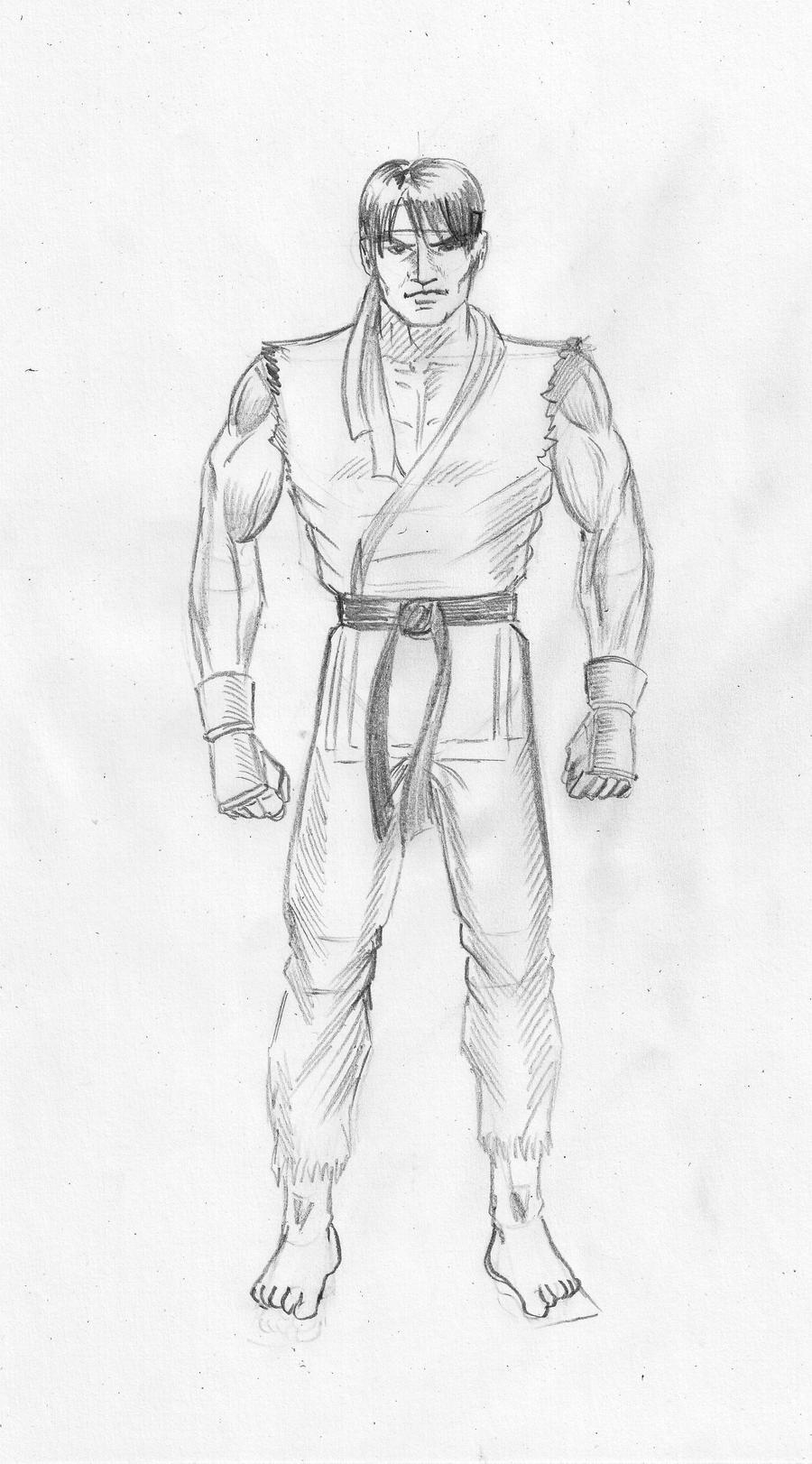Street Fighter Ryu by gamerfan2000