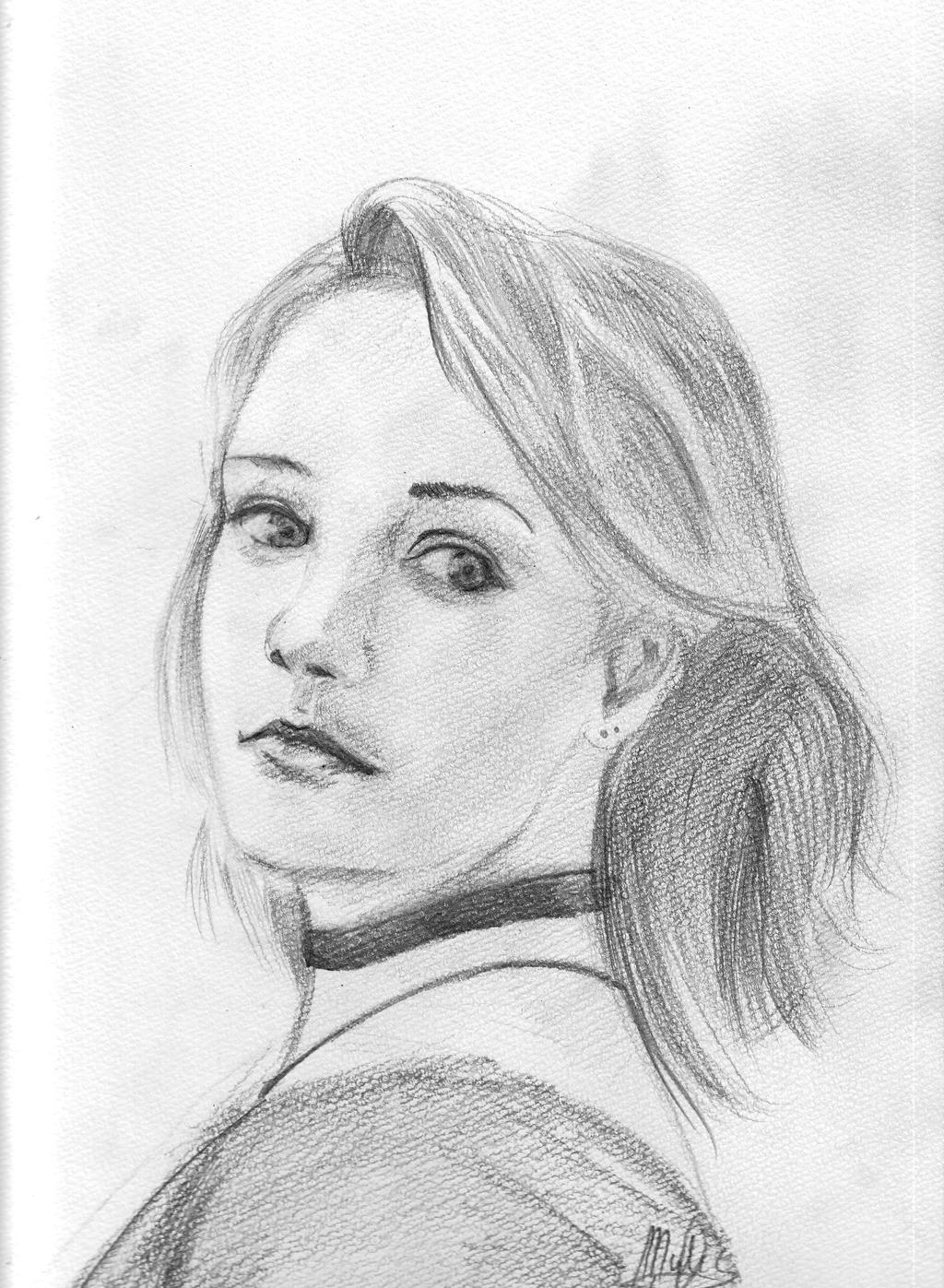 portrait no 3 by gamerfan2000