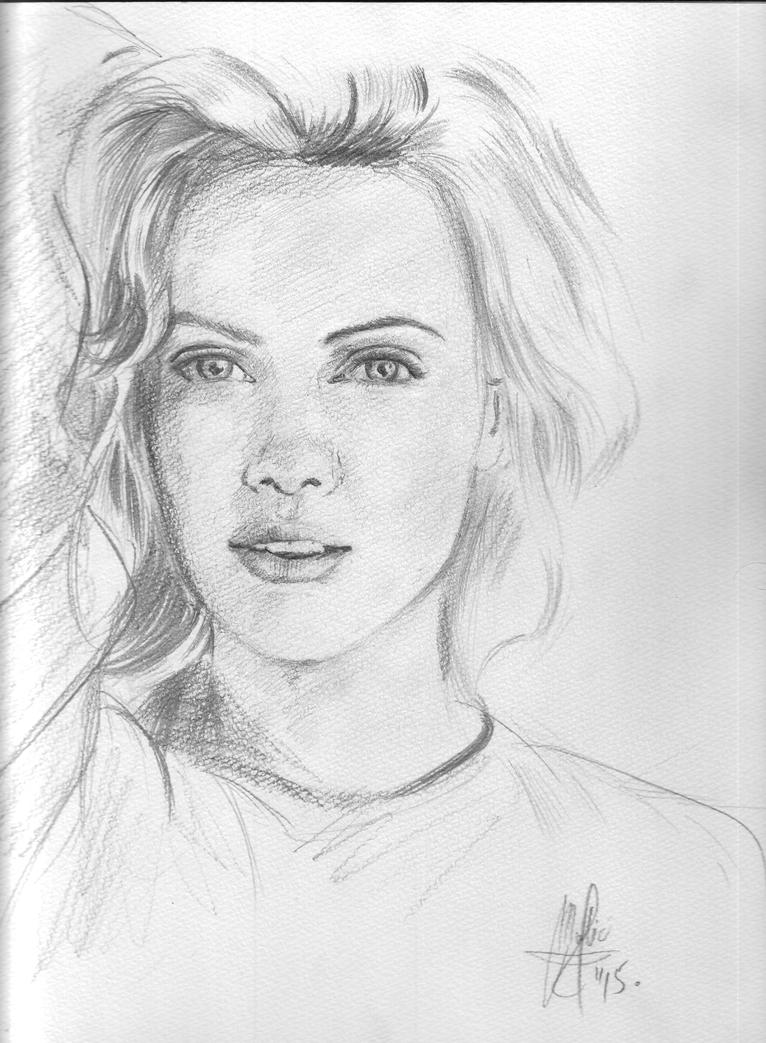 Charlize Theron Portrait by gamerfan2000