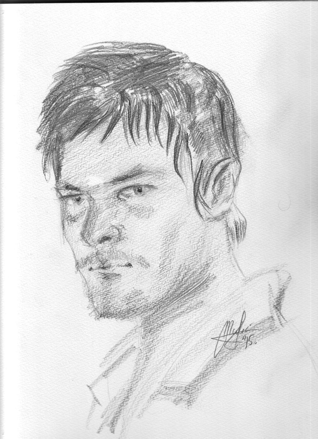 Norman Redus(Daryl Dixon) by gamerfan2000