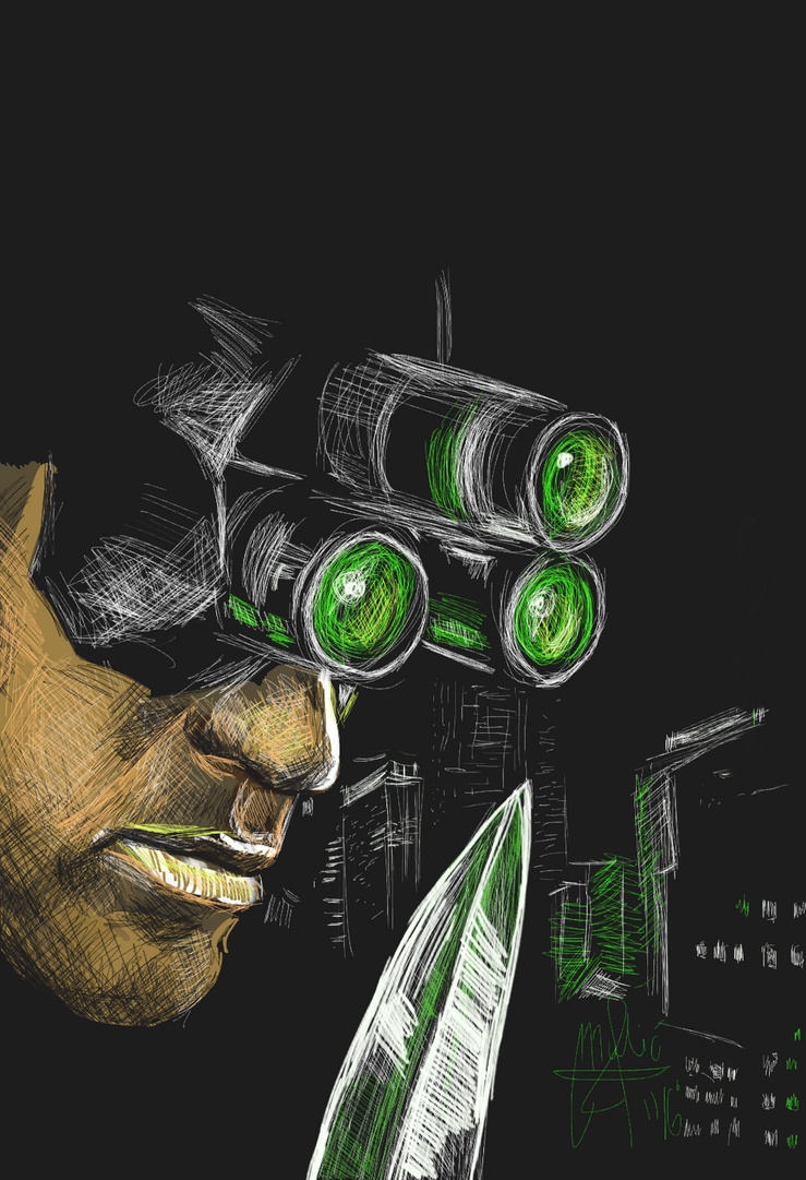 Splinter cell Chaos theory recreation of the cover by gamerfan2000