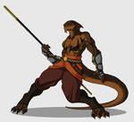 Torell Nahas, Lizardfolk Monk
