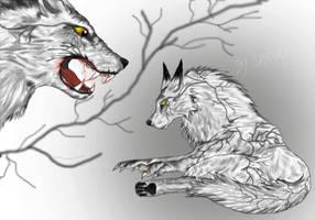 White Wolf by shiranui14
