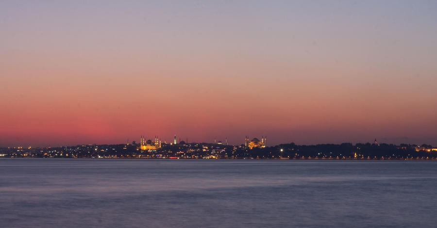 Istanbul View From Moda by dnzgur
