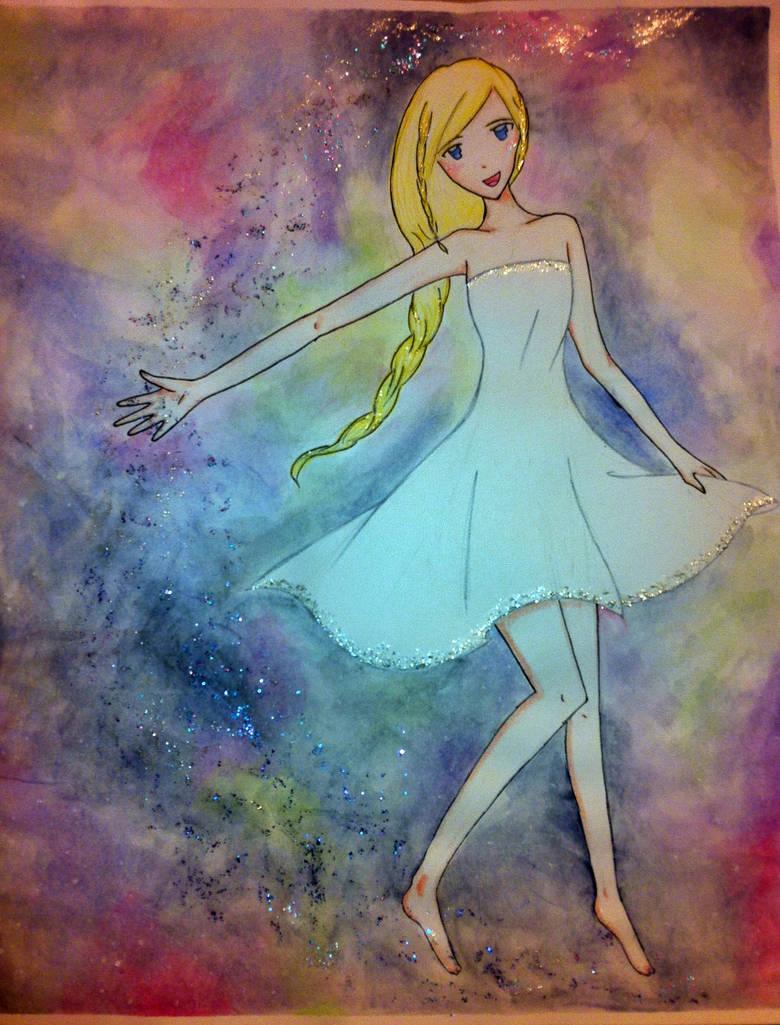 Starry Serenade-Galaxy Dance by mayuralover