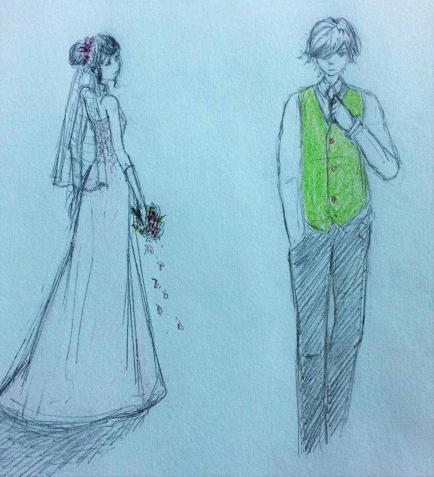 Wedding Dress cover art by mayuralover on DeviantArt