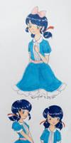 Wonderland Marinette sketches