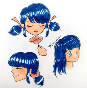 Marinette sketches (3)
