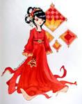 Crimson Asian