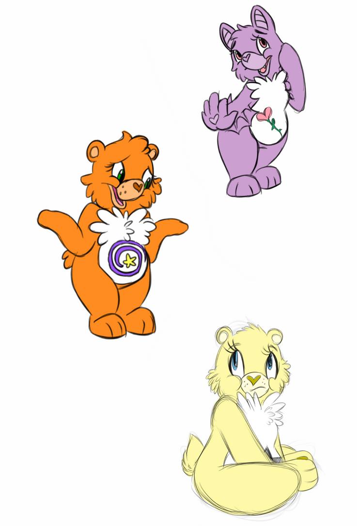 Care Bears OCs by ZAKDerefF