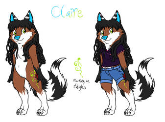 Claire REF by WitButch