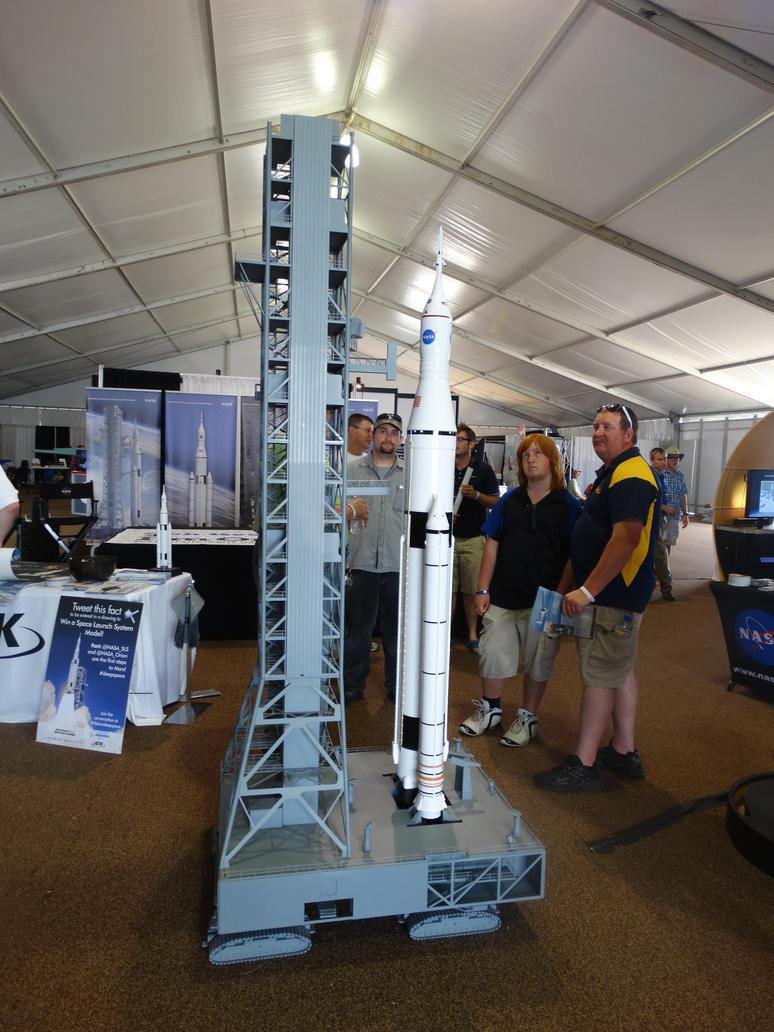 NASA's SLS rocket by StreakValkyrie on DeviantArt