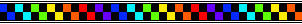 Check Divider Rainbow Stripe Backwards by kicked-in-teeth