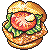 Chicken Burger by kicked-in-teeth