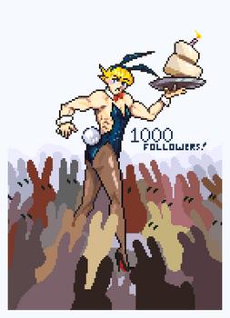 1000 [twitter] Followers