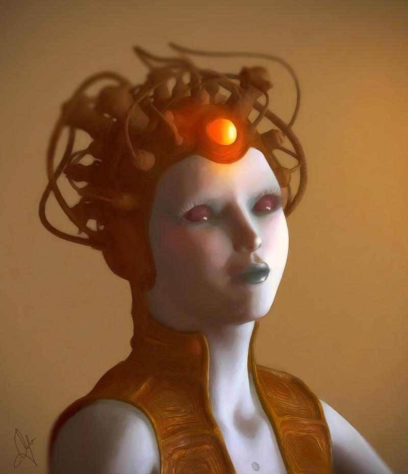 alien queen by leloops