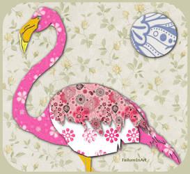 Flamingo by FailureInArt