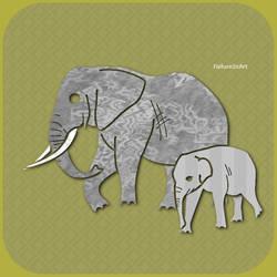 Elephants by FailureInArt