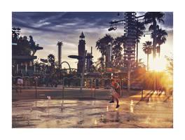 City Walk by Real-Nela