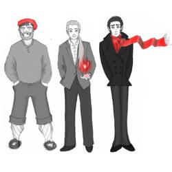 Transneptune Guys by HawleyQuinn