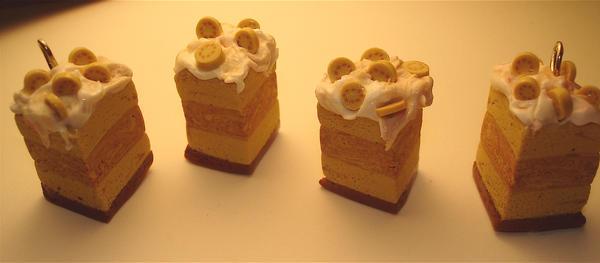 Banana Cream ummm CAKE by MotherMayIjewelry