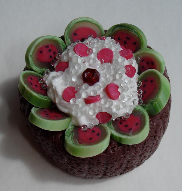 watermelon by MotherMayIjewelry