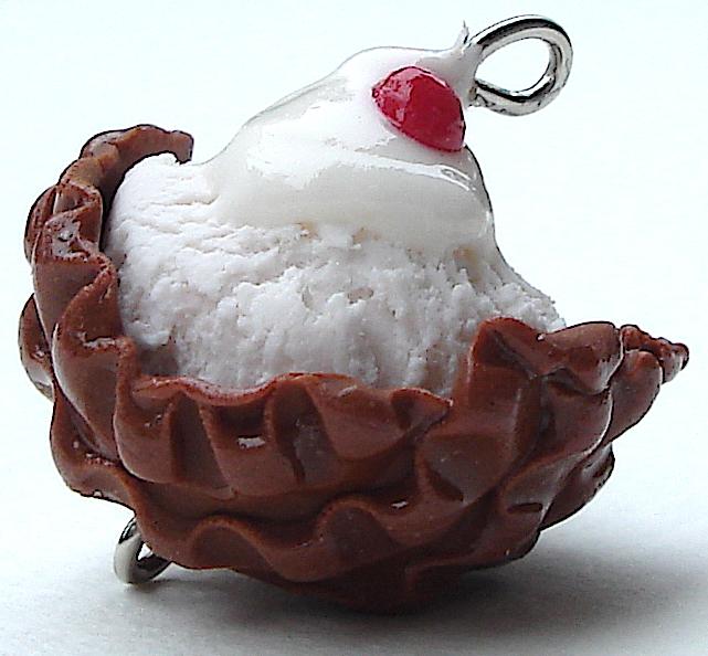 vanilla waffle bowl by MotherMayIjewelry