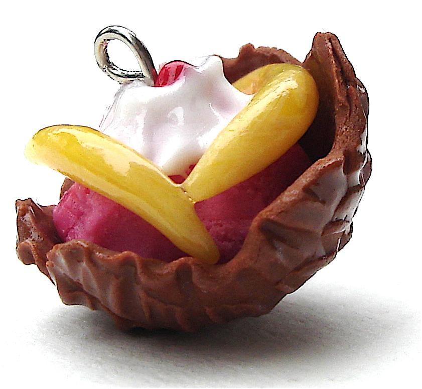 strawberry banana by MotherMayIjewelry
