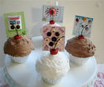 cupcake place or card holder