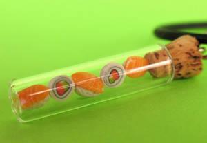 sushi jar necklace by MotherMayIjewelry