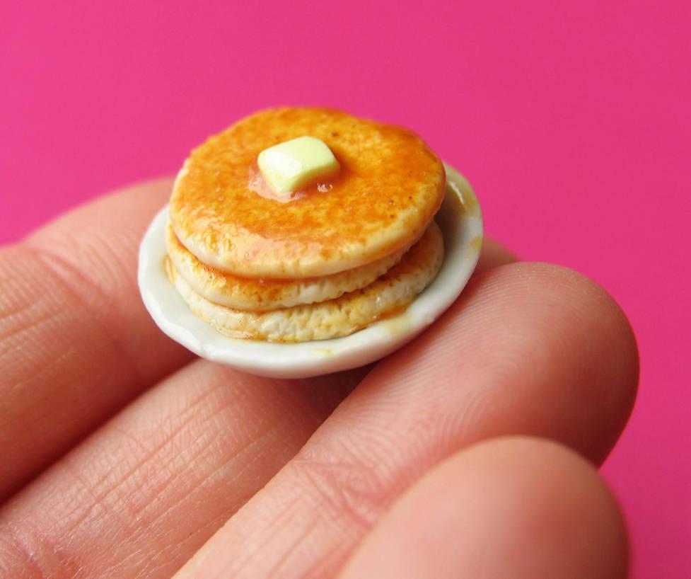 Pancake Magnet by MotherMayIjewelry