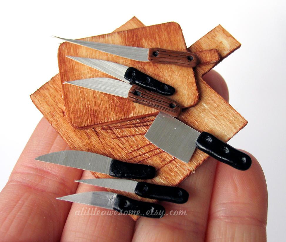 Kniveswmark by MotherMayIjewelry